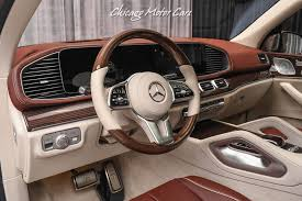 Interior dimensions passenger capacity 4 (5 optional). Used 2021 Mercedes Benz Gls600 Maybach 4matic The Hottest Luxury Suv On The Market Gorgeous Cardinal Red For Sale Special Pricing Chicago Motor Cars Stock 17842