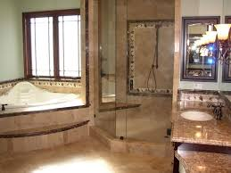 luxury master bathroom design featuring central bathtub placement with recessed lighting plus stunning marble flooring