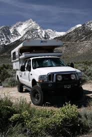 Alaskan cab-over on a crew cab Ford | Campers | Camper shells, Truck ...