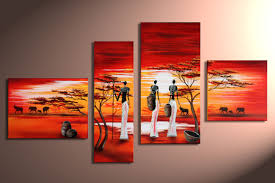 modern oil paintings on canvas abstract painting set12049