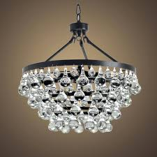 chandeliers claudia 3 light crystal glass drop chandelier in antique bronze finish celeste dark antique