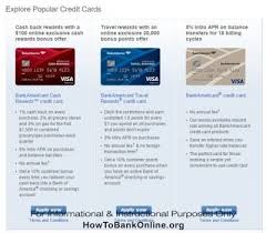 1% cash back purchases made in sam's club stores and at sam's club gas stations. Bank Of America Credit Card Apply Online How To Bank Online