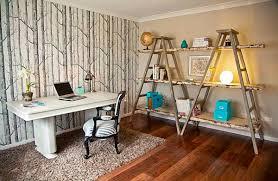 decor ideas ladder shelves