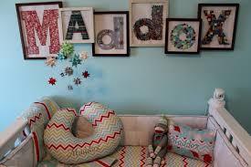 image of monogram wall decor diy