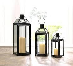 tall candle lanterns