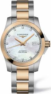 l3 676 5 87 7 longines sport collection conquest mens automatic l3 676 5 87 7 longines sport collection conquest mens automatic mop diamonds dial watch