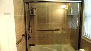 captivating shower door sizes what glass shower door opening size
