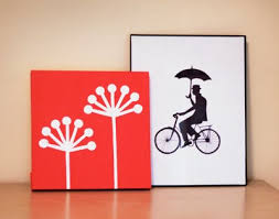 make diy wall art with office supplies artwork for office walls