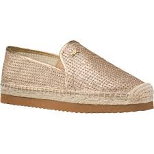 Michael Kors Perforated Leather Hastings Slip On Shoes