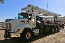 New 2018 Manitex 35124c Mounted To Kenworth T440 Chassis