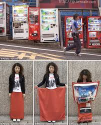 Japanese Vending Machine Dress Awesome 48 Bizarre Yet Real Japanese Inventions That Might Surprise You