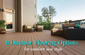 Backyard Deck Design Ideas Classy 48 Outdoor Flooring Options For Style Comfort FlooringInc Blog