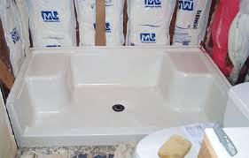 best home brilliant custom fiberglass shower pan in pans installations from custom fiberglass shower pan