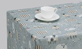 sheep oilcloth tablecloth pvc tablecloth wipeclean tablecloth all sizes