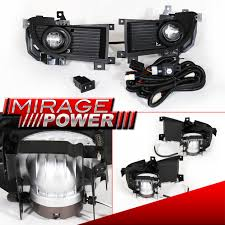 2004-2006 Mitsubishi Lancer Driving Clear Bumper Fog Lights ...
