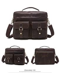 Designer Messenger Bags Designer Messenger Bag Men Genuine Leather Briefcase Shoulder Leather Laptop Crossbody Bags