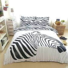 100 cotton zebra bedding sets black and hundred 3pcs 4pcs queen twin duvet cover zebra duvet