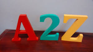painted wooden letters uk 2 9