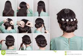 Self Hair Style hairstyle for long curly hair tutorial stock photo image 70187733 4521 by wearticles.com