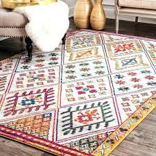 bright multi colored area rugs multi colored rugs awesome handwoven cotton brilliant ribbon multi colored area