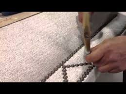 decorative nails for furniture. Decorative Nail Trim Being Applied To An RC Furniture Headboard Nails For 0