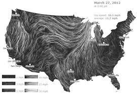 Wind Patterns In The Us