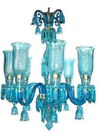 chandeliers blue glass chandelier 8 arm new id pendant shades