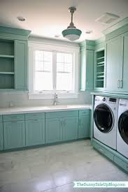 Sunny Side Up: Upstairs Laundry Room