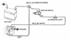 delco one wire alternator wiring diagram images delco remy one wiring diagram additionally ford 8n 12 volt conversion