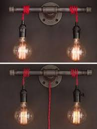 diy industrial lighting. wilbur industrial pipe sconce by lostfoundries on etsy mais diy lighting