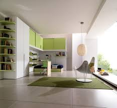 contemporary kids bedroom furniture green. Kids Bedroom Images With Contemporary Green And White Interior Theme Design Charming Single Bed Large Glasses Windows For Furniture
