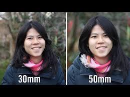 30mm vs 50mm prime lenses parison