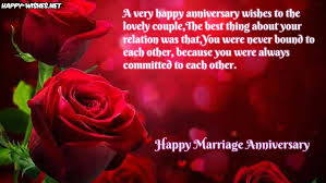 Happy Wedding Anniversary Quotes Custom Happy Marriage Anniversary Wishes For Sister Happy Wishes