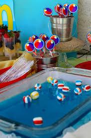 Beach Ball Decoration Ideas Kara's Party Ideas Beach Ball Birthday Party Supplies Planning 29