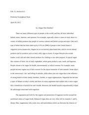 critique essay on social media esl section professor 4 pages argumentative essay on veganism