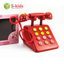 Báo giá Đồ chơi trẻ em thông minh - Mô hình điện thoại bàn Mother Garden  chỉ 290.000₫