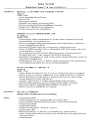 Pharmacy Resume Example Specialty Pharmacy Resume Samples Velvet Jobs 12