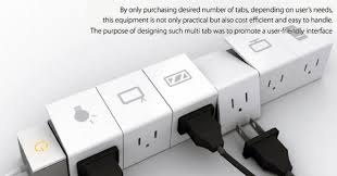 modular power strip with ejector slots