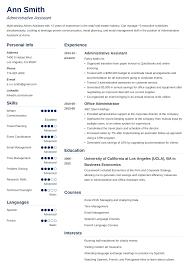 Sample Office Assistant Resume Administrativeistant Resume Template Doc Cv Uk Curriculum