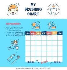 Brushing Teeth Charts Gocare Co