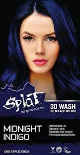 Splat 30 Wash No Bleach Formula Midnight Indigo