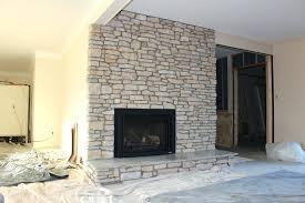 excellent fireplace brick veneer how to install stone veneer over brick within stone veneer over brick fireplace modern