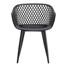 modern lattice dining chairs black set of 2 eclecticgoods com