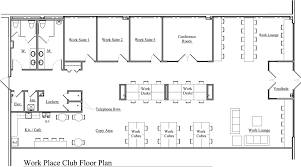 office space floor plan creator. floor plan design for coworking long space architecture office creator a