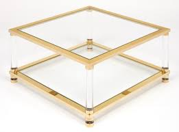 Empire Coffee Table Square Lucite Coffee Table 36 Square Coffee Table In Coffee Table