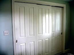 sliding byp closet doors pocket laundry door whats cur in closet doors or inside 3 door