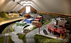there loft to devote the entire space to a scalextric track or train towns how cool is that other than scalextric there are numerous other hobby room