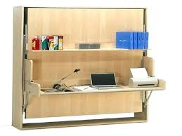 queen wall bed desk. Horizontal Wall Bed With Desk Plans Free Queen . E