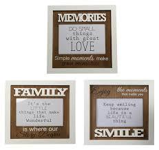 Moderne Sprüche Bilderrahmen Für 10x15 Cm Memories Family Smile Foto