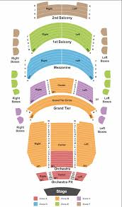 Blumenthal Seating Chart Belk Theater Seating Chart Charlotte